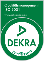 DEKRA - Siegel | Qualitätsmanagement 9001
