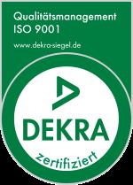 DEKRA - Siegel | Qualitätsmanagement 9001